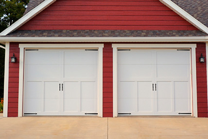 5300 Overlay Carriage House Garage Door
