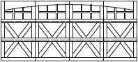 7101d-crossbuck-arch-3sec-24w