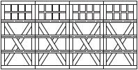 7101d-crossbuck-square-4sec-32w
