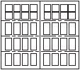 7104s-narrow-square-4sec-16w