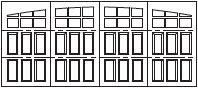 7105d-wide-raised-panel-arch-3sec-24w
